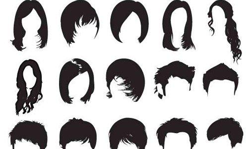 Free Hi-Res Photoshop Hair Brushes