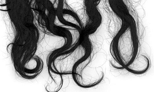 BRUSHES: Hair strands