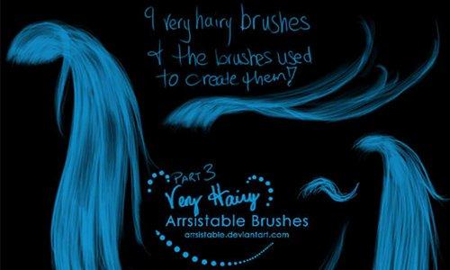 Very Hairy Brushes III