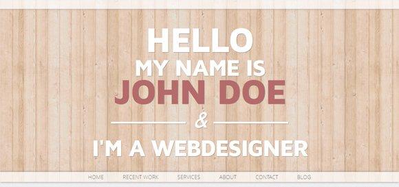 20+漂亮简约的Wordpress模板