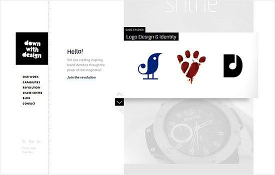 instantshift - Inspirational portfolio Website Designs