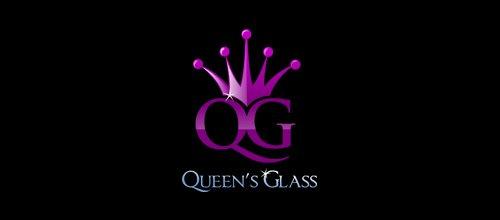 Queen's Glass logo