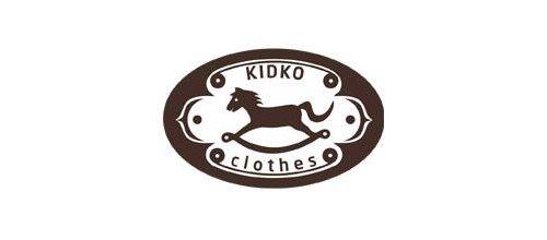 Premium children apparel logo