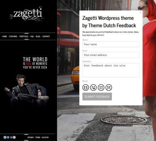Zagetti™ I A Stylish WordPress theme