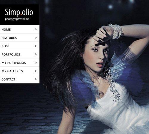 Simpolio - Fullscreen Portfolio & Blog WP Theme