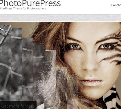 PhotoPurePress - WordPress for Photographers