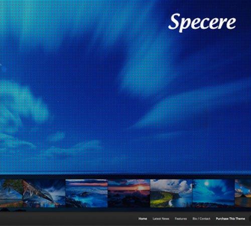 Specere WordPress Theme