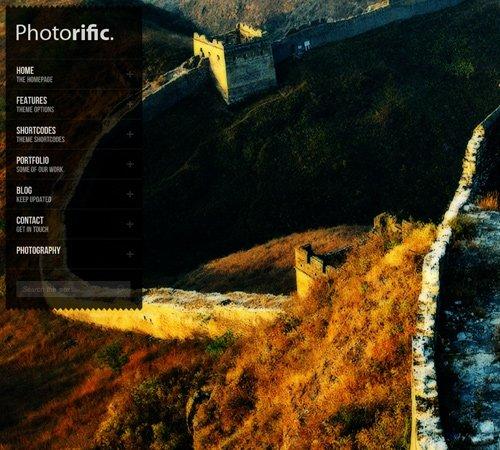 Photorific - Photography WordPress Theme