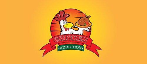 chicken roasted restaurant logo