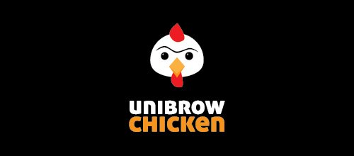Unibrow Chicken logo