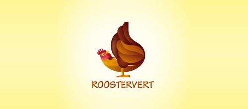 Roostervert logo