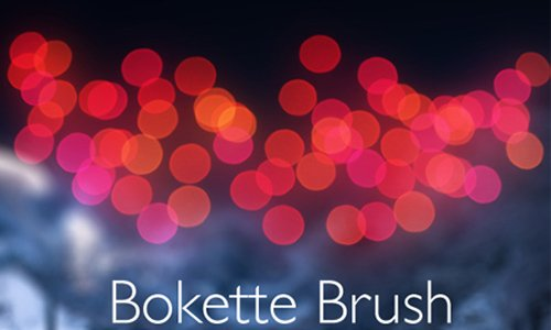 Bokette Bokeh Photosop Brush