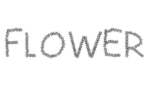 FLOWERcomic font