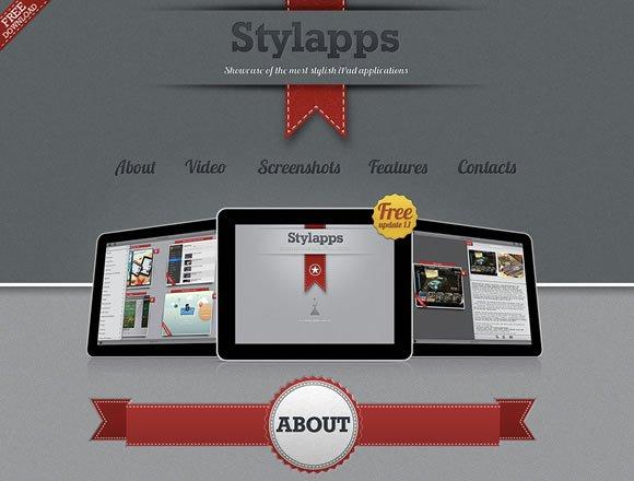 Inspiring iPhone and iPad App Websites