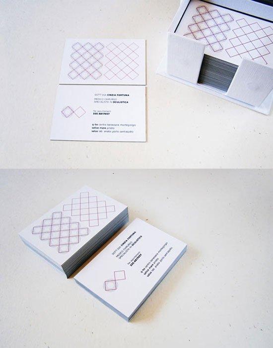 Cinzia Fortuna Business Card Inspiration