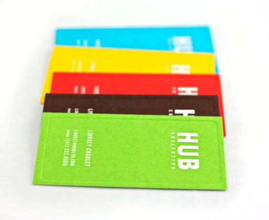 HUB Collective Business Card Inspiration
