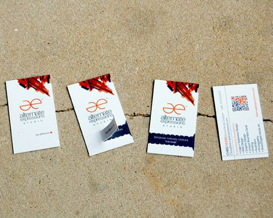 Alternate Expressions Business Card Inspiration
