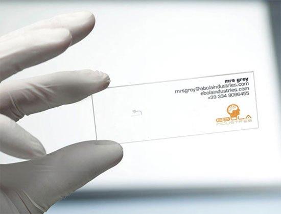 Ebolaindustries Business Card Inspiration