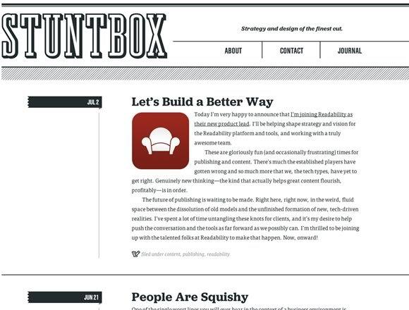 20 Examples of Minimal Style Navigation Menus in Web Design
