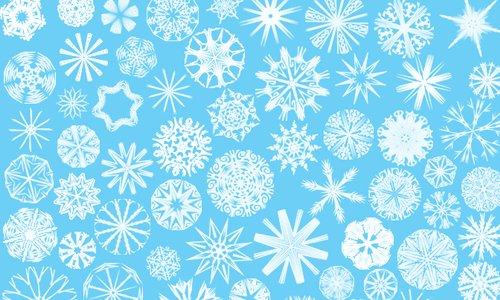 Snowflakes No. 6