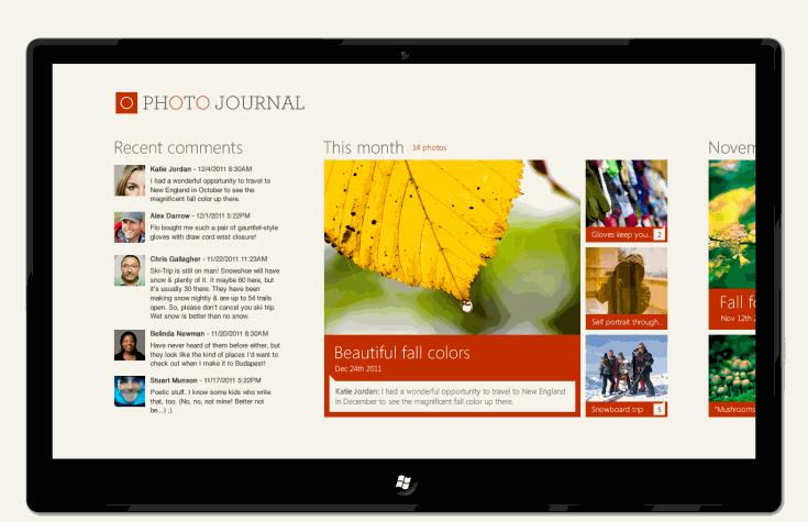 设计案例研究:iPad 到 Metro 风格应用