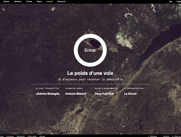 20+漂亮的暗调色系网页设计