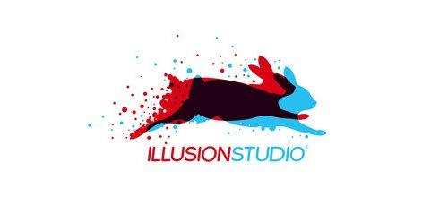30个兔子logo设计作品 设计达人