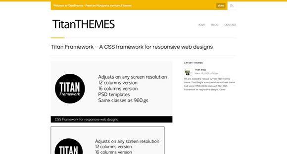 响应性网页设计资源及框架工具