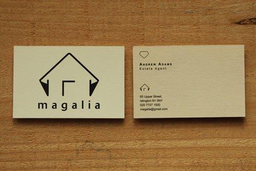 设计达人 - 房地产名片设计欣赏