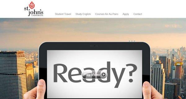 设计达人 - 设计趋势:使用照片背景的网页设计