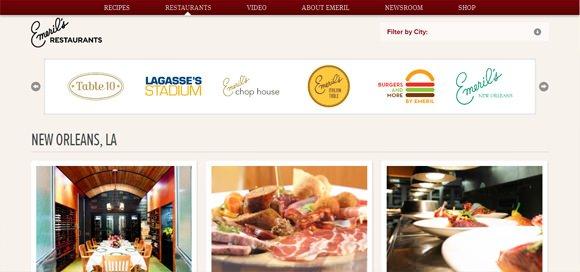 设计达人 - 21个餐厅食品网站设计欣赏