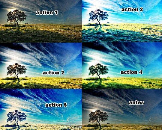 设计达人 - Photoshop图像处理动作