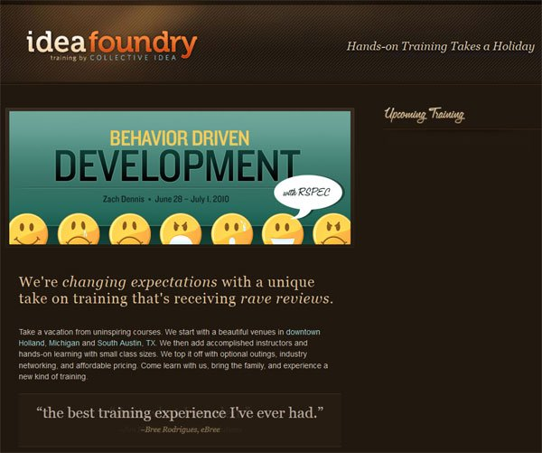 设计达人 - 暗调-黑色网站设计