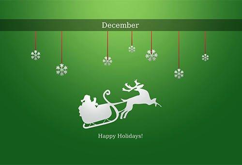 2012漂亮的圣诞节桌面壁纸 - 设计达人