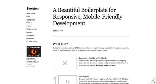 设计师使用的响应性布局框架