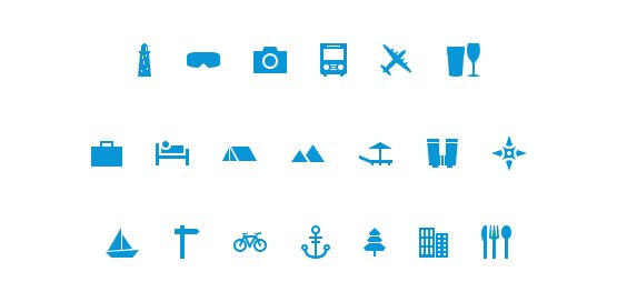Free Travel Icon Pack