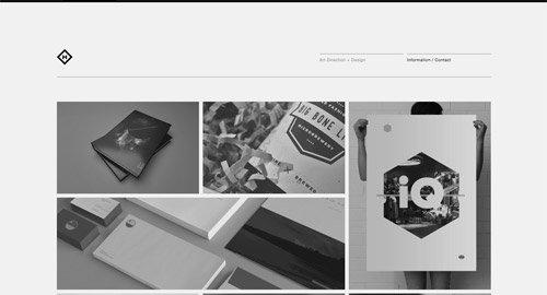 超级简约的网页设计作品 - 设计达人