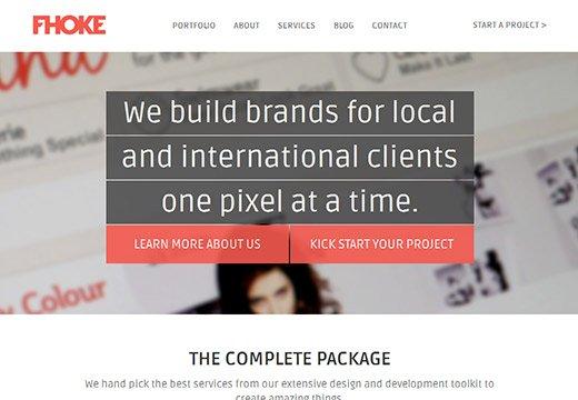设计达人 - 漂亮的HTML5网页设计欣赏