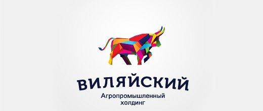 十分霸气的公牛logo设计作品欣赏图片