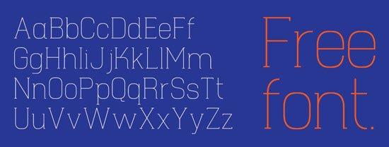 Hapna 免费字体下载 - 设计达人网