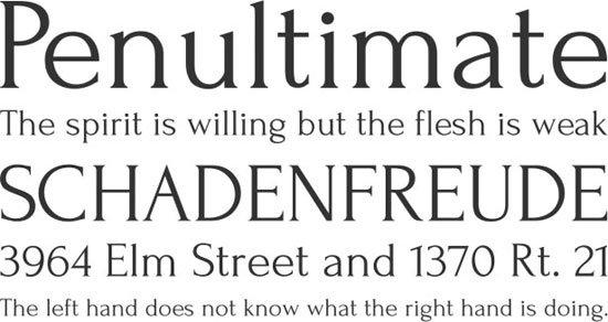 Forum 免费字体下载 - 设计达人网