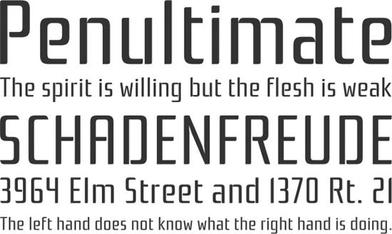Rationale 免费字体下载 - 设计达人网