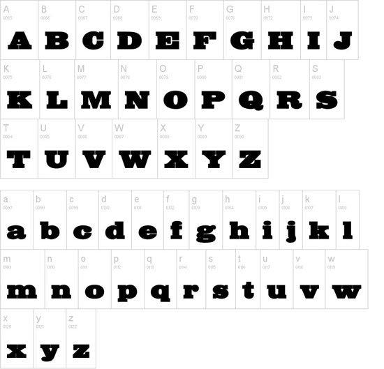 Bigmummy 免费字体下载 - 设计达人网
