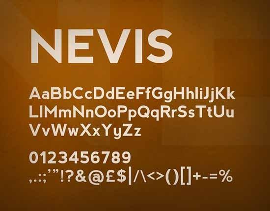 设计达人- banner广告使用的英文字体