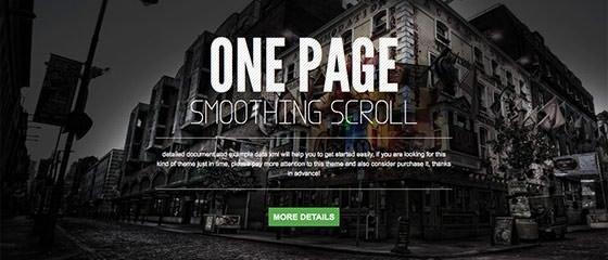 单页面设计WordPress主题 - by 设计达人网