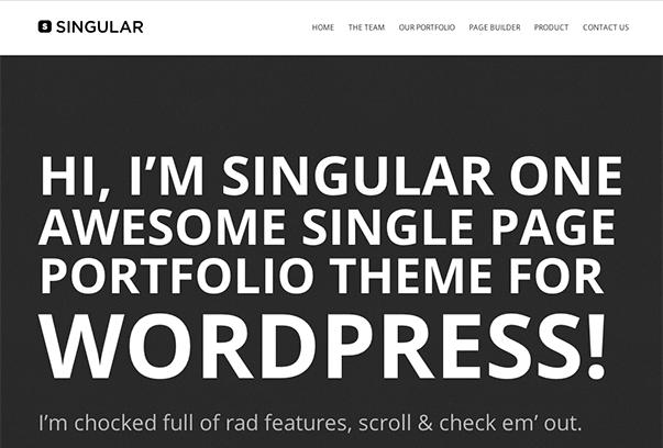 WP-奇异的WordPress主题