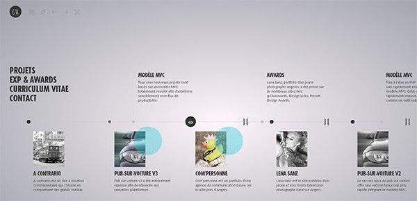 Clement Zazuka in Showcase of 创意漂亮的单页网站 - by 设计达人网