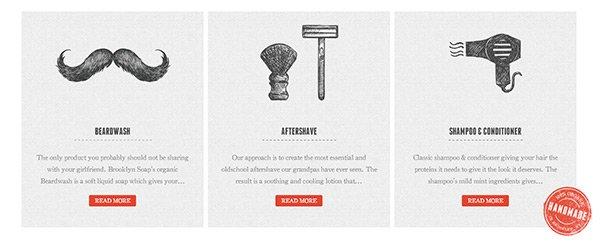 The Brooklyn Soap Company in Showcase of 创意漂亮的单页网站 - by 设计达人网