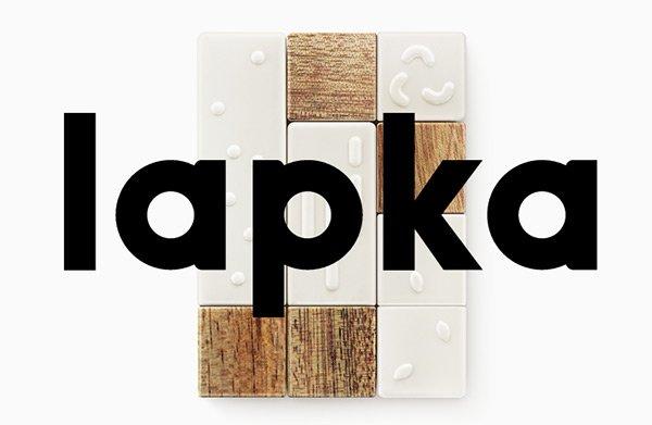 Lapka in Showcase of 创意漂亮的单页网站 - by 设计达人网