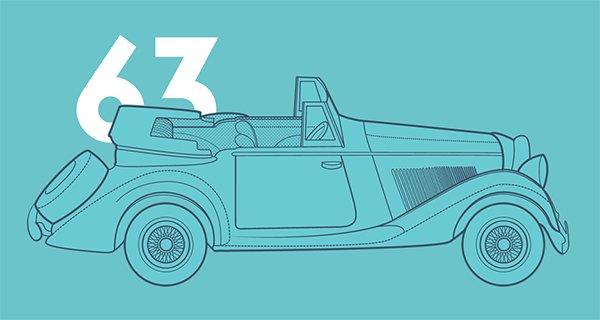 James Bond 007 Cars Evolution in Showcase of 创意漂亮的单页网站 - by 设计达人网